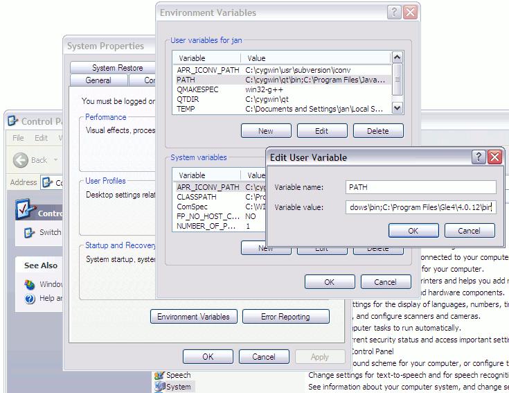 Change System Search Path