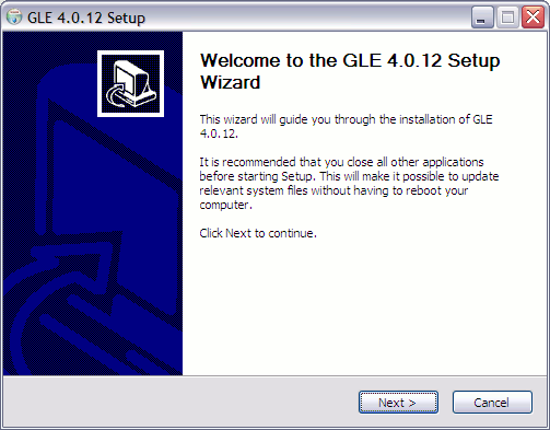 Install Gle Step 1